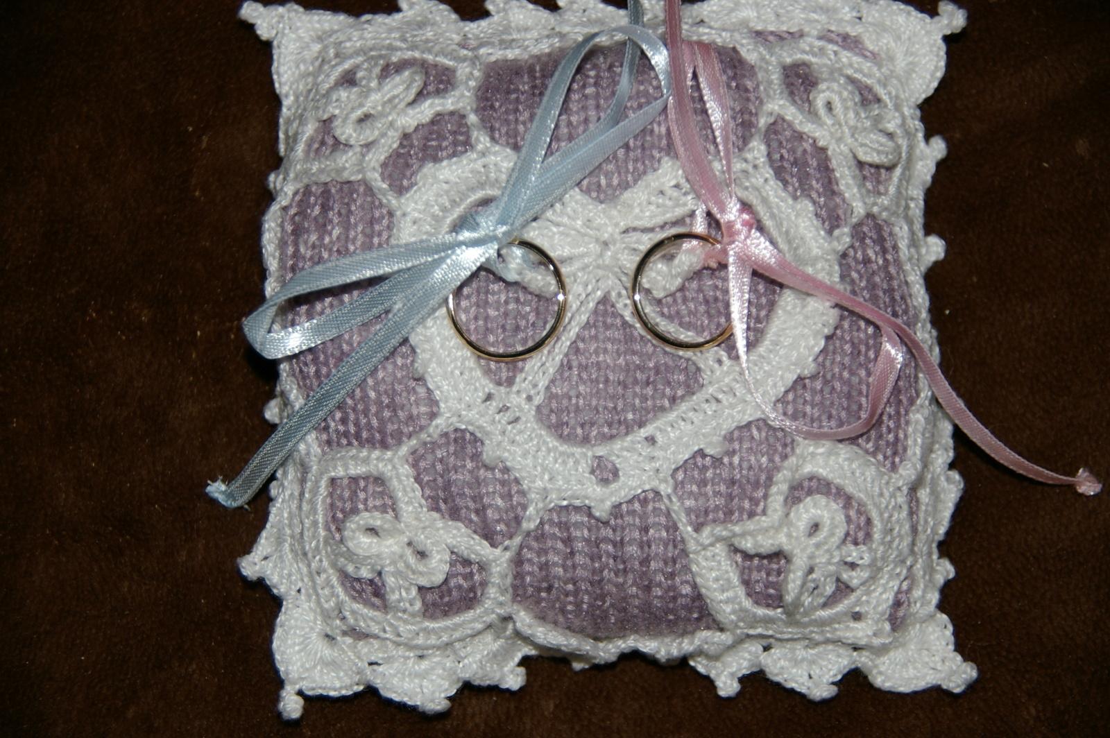 Crochet Mariage Petit Coussin Cœur Pour Alliances Tutoriel